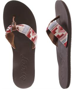 Reef Scrunch TX Sandals Red Multi