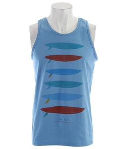 Reef Single Stack Tank Light Blue