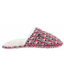 Reef Sleepin In Slip Ons Black/White/Pink