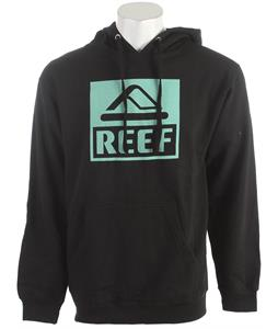 Reef Square Block Pull Hoodie Black
