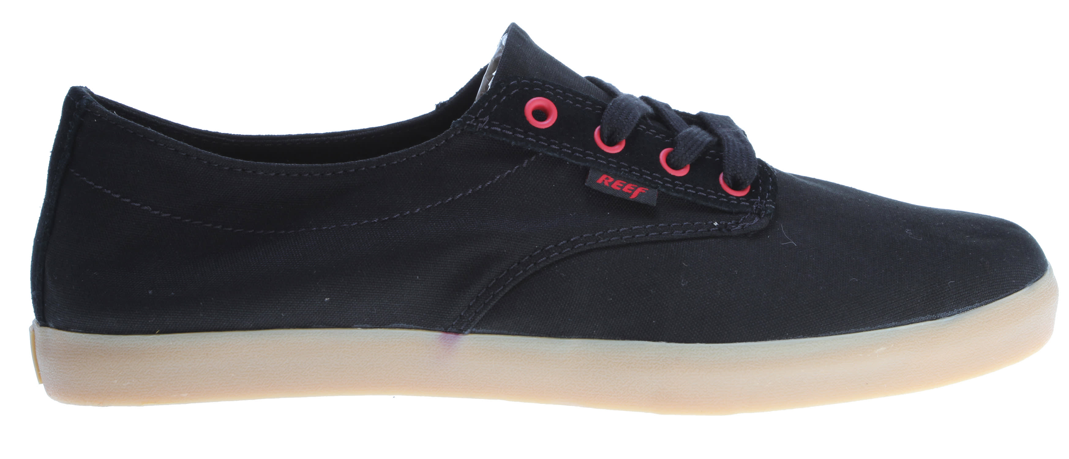 Shop for Reef Stanley Casual Shoes Black/Red - Men's
