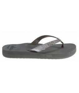 Reef Star Cushion Sandals Charcoal