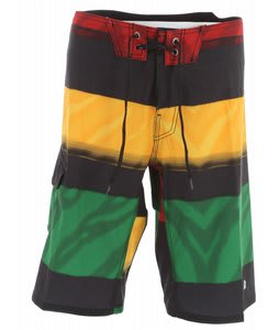 Reef Stripe Conflict Boardshorts Rasta