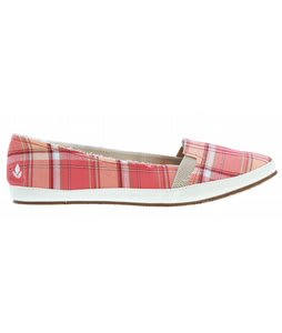 Reef Summer Casual Shoes Pink Plaid