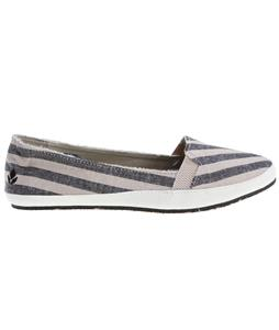 Reef Summer Shoes Black/Natural Stripe