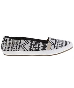 Reef Summer TX Shoes Black/White