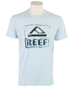 Reef Waterstain T-Shirt Light Blue