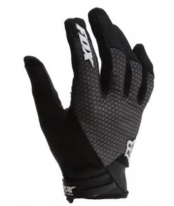 Fox Reflex Gel Bike Gloves Black