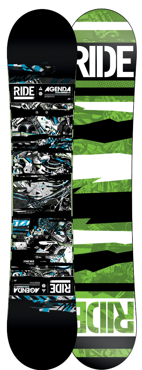 Shop for Ride Agenda Snowboard 147 - Men's