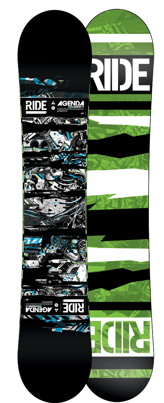 Shop for Ride Agenda Snowboard 156 - Men's