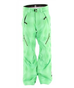 Ride Alki Snowboard Pants Green Blurred Plaid