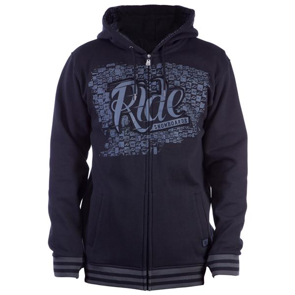 Ride Applique Full Zip Hoodie