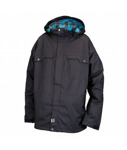 Ride Ballard Insulated Snowboard Jacket Black