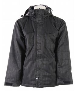 Ride Ballard Insulated Snowboard Jacket Black Denim