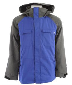 Ride Ballard Insulated Snowboard Jacket Bright Indigo