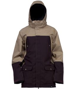 Ride Ballard Snowboard Jacket Black Currant