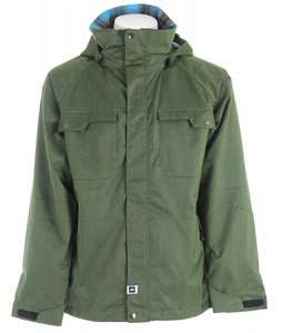 Ride Ballard Snowboard Jacket Green Denim