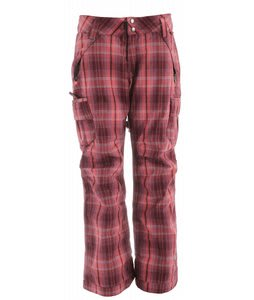 Ride Beacon Insulated Snowboard Pants Cline Plaid Flannel