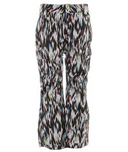 Ride Beacon Insulated Snowboard Pants Ikat Print