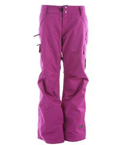 Ride Beacon Snowboard Pants Dark Violet Twill