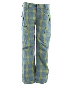 Ride Beacon Snowboard Pants Faded Plaid