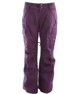 Ride Beacon Snowboard Pants Scratches Print