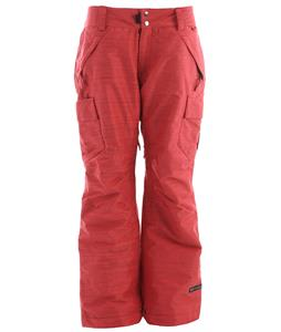 Ride Beacon Snowboard Pants Strawberry Slub