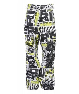 Ride Belltown Snowboard Pants High Power Print