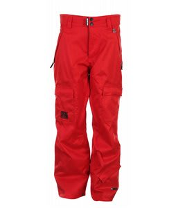 Ride Belltown Snowboard Pants Red