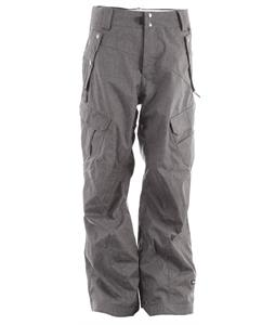 Ride Belltown Snowboard Pants Black Concrete Melange