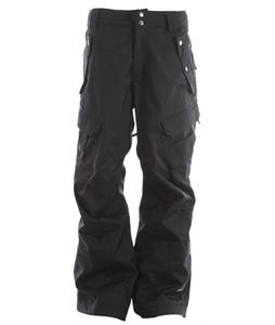 Ride Belltown Snowboard Pants Black Twill