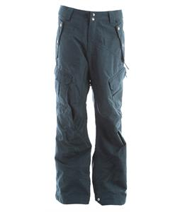 Ride Belltown Snowboard Pants Blue Marine Slub