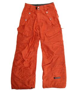 Ride Belltown Snowboard Pants Dark Orange Slub