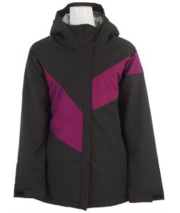 Ride Brighton Snowboard Jacket Black Twill
