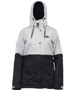 Ride Brighton Snowboard Jacket Chalk Dot Emboss