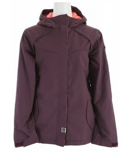 Ride Broadview Insulated Snowboard Jacket Deep Plum