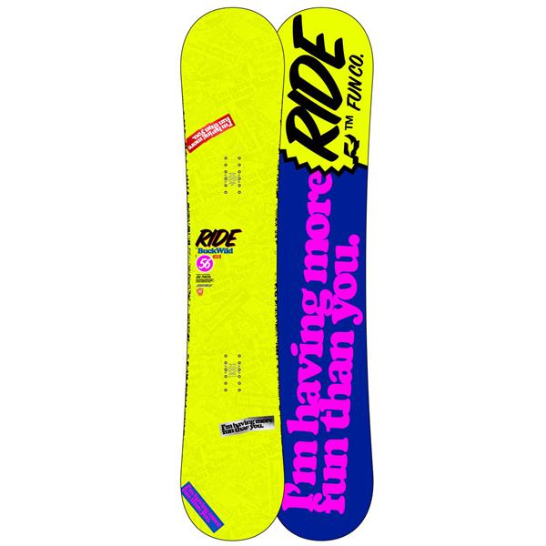 Ride Buckwild Wide Snowboard
