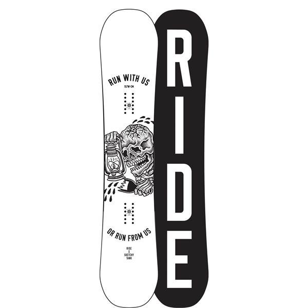 Ride Burnout Wide Snowboard