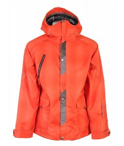 Cappel Cambridge Snowboard Jacket Orange Blurred Plaid