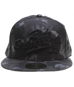 Ride Camo New Era Cap Black
