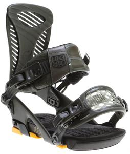 Ride Capo Snowboard Bindings Matte Olive