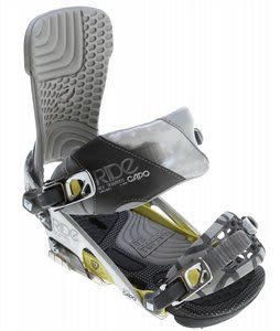 Ride Capo Snowboard Bindings Chrome