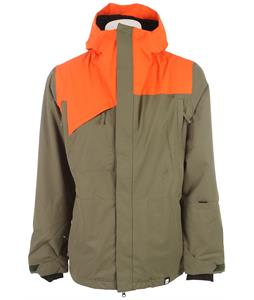 Ride Central Snowboard Jacket Fatigue Olive Twill