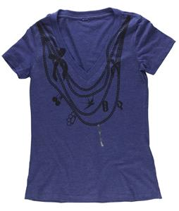 Ride Chains V Neck T-Shirt Purple Rain