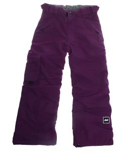 Ride Charger Snowboard Pants Dark Plum Twill