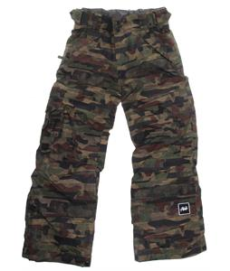 Ride Charger Snowboard Pants Distorted Camo Print