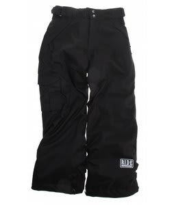 Ride Charger Snowboard Pants Black