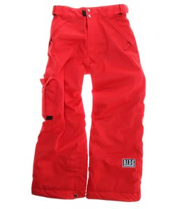 Ride Charger Snowboard Pants Red