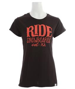 Ride Coast Logo T-Shirt Black