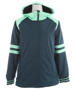 Ride Crown Snowboard Jacket Blue Marine